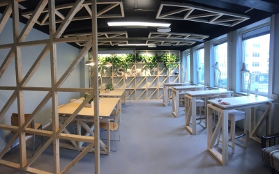 Spark* NTNU har åpnet Coworking Space!
